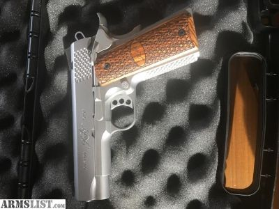 For Sale: Kimber Pro Raptor Custom Shop Stainless 1911