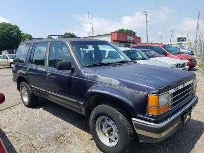 1991 Ford Explorer Eddie Bauer (Blue)