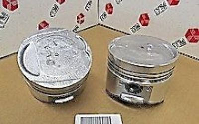 Find 4 Pistons with Rings Mitsubish Galant Expo Hyundai Sonata Plymouth Colt 2.4 motorcycle in San Mateo, California, United States, for US $39.95
