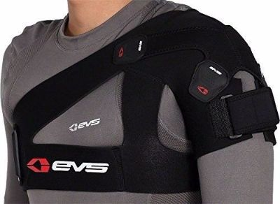Purchase EVS X-Strap SB03 Shoulder Stabilizer, Black, Large motorcycle in Olympia, Washington, United States, for US $27.49