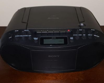 Sony Radio and Cassette CD not working