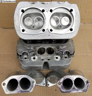 New CB CNC Ported 044s w/ matched 48 IDA Manifolds