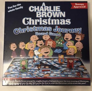 NEW Charlie Brown Christmas Journey board game