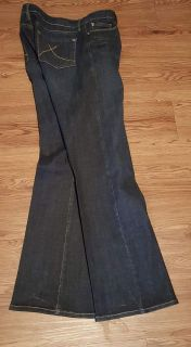 Genes Bootcut Size 10 fits like 12/has stretch to it. Worn once. $5