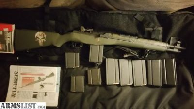 For Sale/Trade: M1A SOCOM 16 Traded To Multiple glocks + Boot