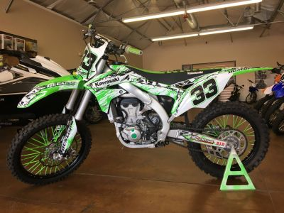 2016 Kawasaki KX450F Motocross Motorcycles Stillwater, OK