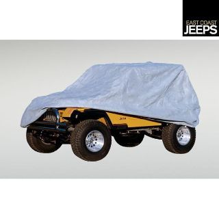 Purchase 13321.71 RUGGED RIDGE Full Car Cover, 04-12 Jeep LJ and JK Wrangler Unlimiteds, motorcycle in Smyrna, Georgia, US, for US $100.62