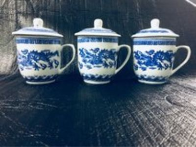 Chinese Tea cup s with Saucer s