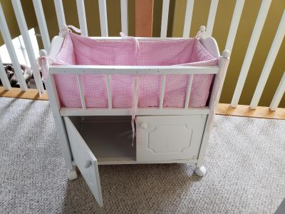Doll Bed with storage