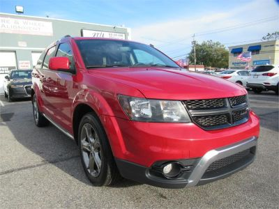 2017 Dodge Journey Crossroad Plus FWD (Red)
