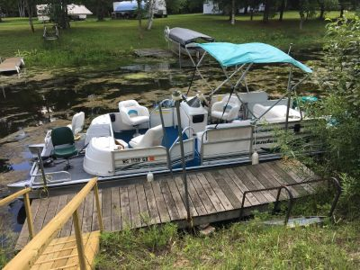 Pontoon, Motor, & Trailer