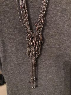 Beautiful braided necklace