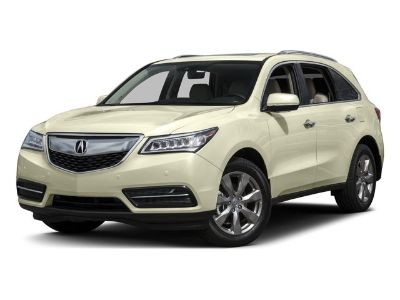 2016 Acura MDX w/Advance (Crystal Black Pearl)