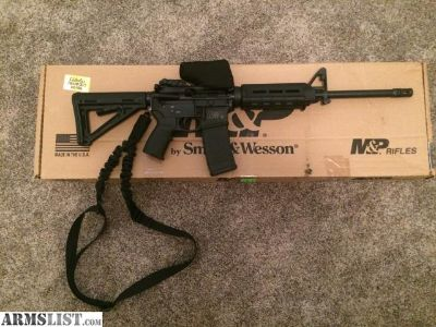 For Sale: Smith and Wesson M&P Sport 2 + Extras