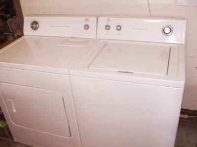 Washer and Dryer by Whirlpool Set with 3 months Guarantee