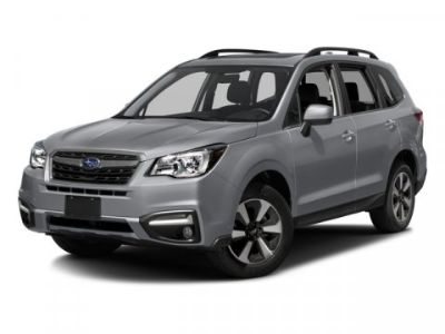 2018 Subaru Forester 2.5i Limited (Crystal White Pearl)