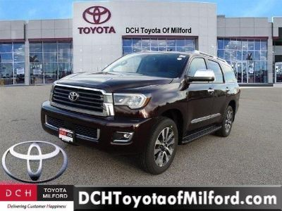 2019 Toyota Sequoia Limited (SIZZLING CRIMSON MICA)