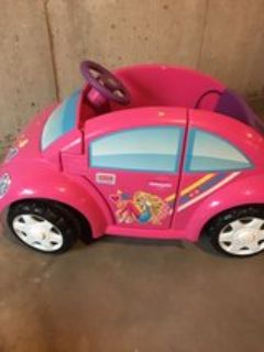 Power Wheels Barbie Car