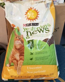 Purina Yesterday News Cat Litter