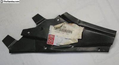 Right rear bumper bracket section