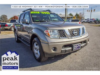 2005 Nissan Frontier SE (Gold)