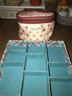 Super cute makeup bag and drawer organizer. QUICK SALE IN DOVE CROSSING!!