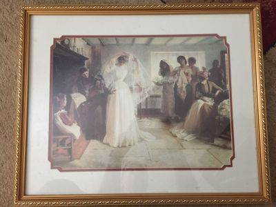 Vintage wedding picture