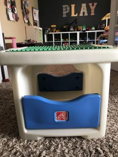 Step 2 Lego Duplo Table