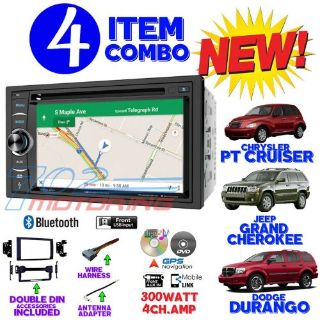 Purchase 06 07 08 09 10 PT CRUISER DURANGO GRAND CHEROKEE NAVIGATION BLUETOOTH CAR STEREO motorcycle in Las Vegas, Nevada, United States, for US $319.99