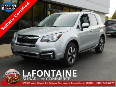 2018 Subaru Forester 2.5i Limited (Ice Silver Metallic)