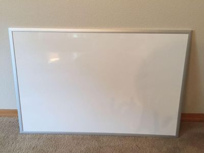 Magnetic Dry Erase Board (23 x 35 ), $6