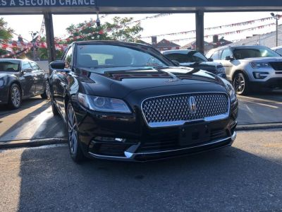 2018 Lincoln Continental Select FWD (Black Velvet)