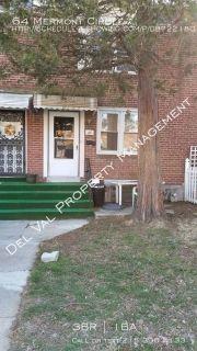 3-Bedroom Row Home for Rent - 64 Mermont Circle - Quiet Street