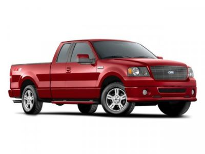 2008 Ford F-150 XL (Red)