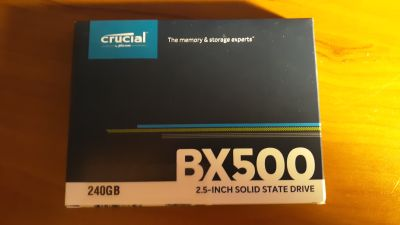 New Crucial BX500 Solid State Drive