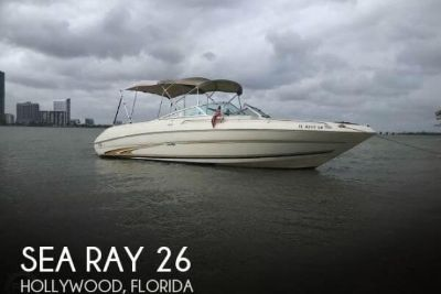 2001 Sea Ray 260 Bowrider