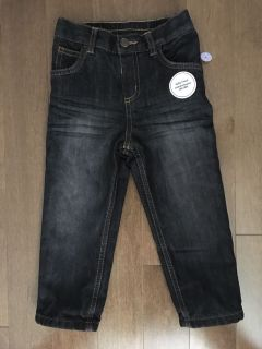 Boys 18-24 months new with tags fully lined black jeans