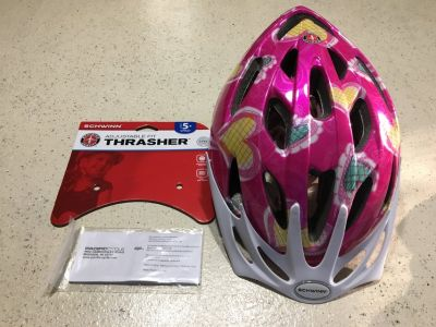 Schwinn girls bike helmet