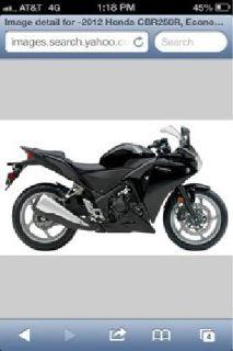 $2,000 Honda CBR250r