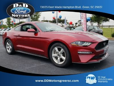 2018 Ford Mustang ECOBOOST FASTBACK (Ruby Red)