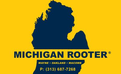 CALL MICHIGAN ROOTER FOR ALL YOUR SEWER & DRAIN CLEANING NEEDS~PLUMBER