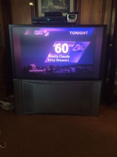 "48"" Hitachi Projection Color Television"