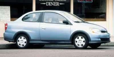 2001 Toyota Echo Base (Alpine Silver Metallic)