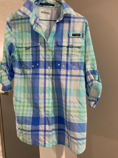 Columbia LS Button up