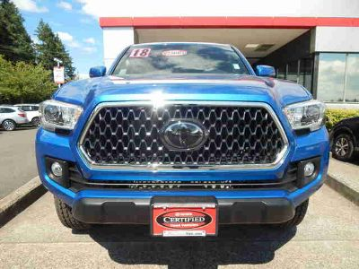 Used 2018 Toyota Tacoma Double Cab 6' Bed V6 4x4 AT (Natl)