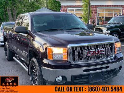 2009 GMC Sierra 1500 SLE (Dark Crimson Metallic)