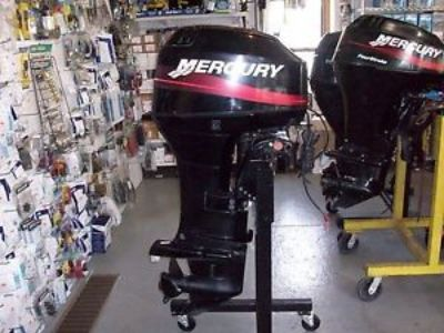 Purchase 2001 40 HP MERCURY OUTBOARD 2-STROKE LONG SHAFT PT/PT REMOTE NO CONTROLS motorcycle in Eagle, Michigan, United States, for US $2,600.00