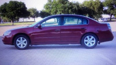 2003 Nissan Altima S red color