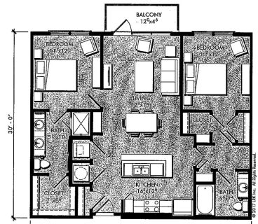 $5580 2 apartment in Fulton County