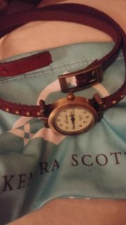 WATCH LEATHER WRAP I NEVER WORR ABSOLUTELY BEAUTIFUL